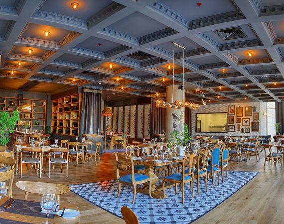 Зал ресторана в Анкаре