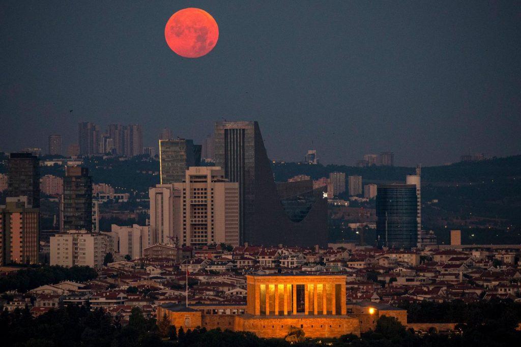 Анкара ночью