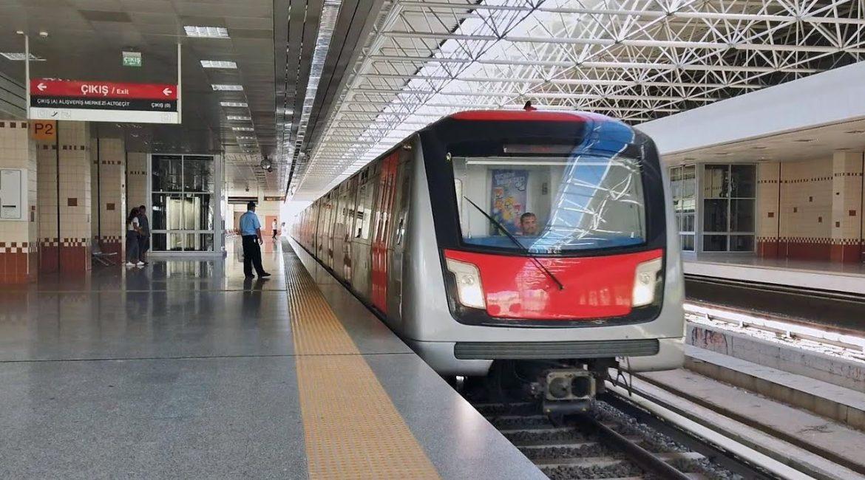 Станция метро Çıkış в Анкаре