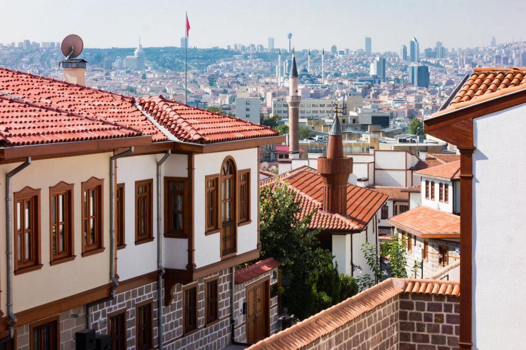 Анкара - старый город