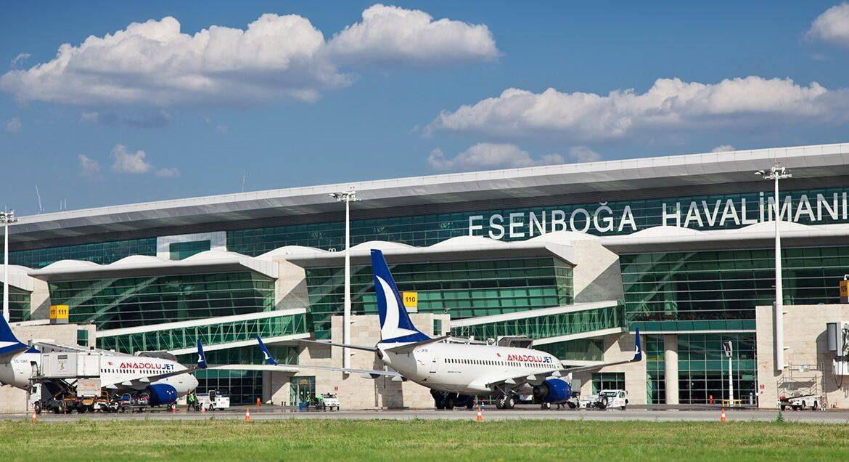Аэропорт Эсенбога в Анкаре