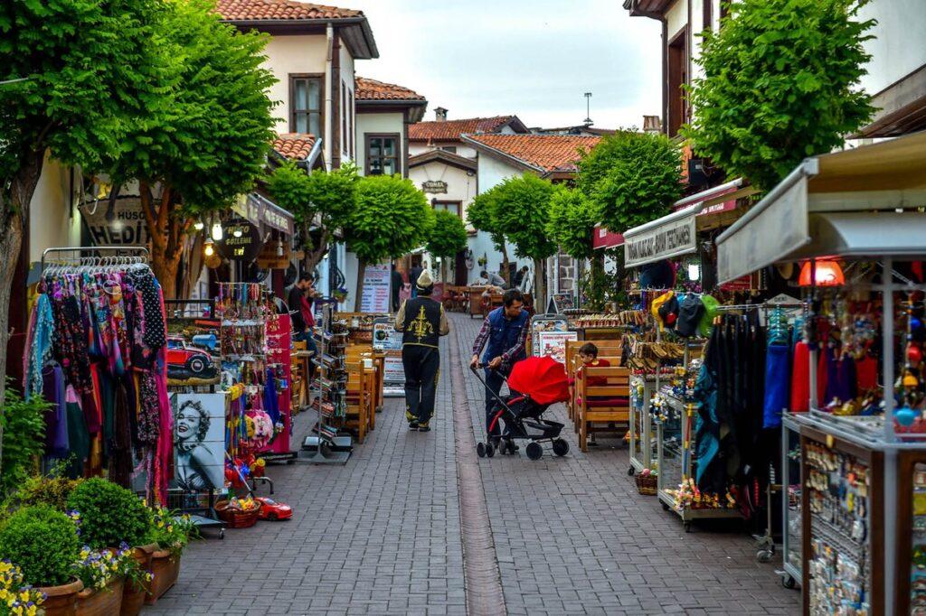 Улица Салман (Salman) в Анкаре