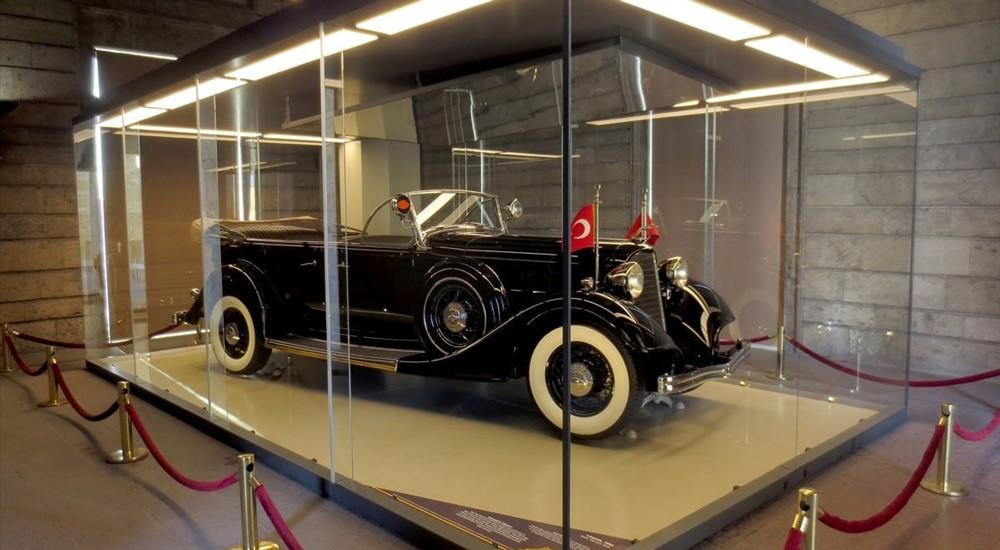 экспонаты в музее Ататюрка в Анкаре
