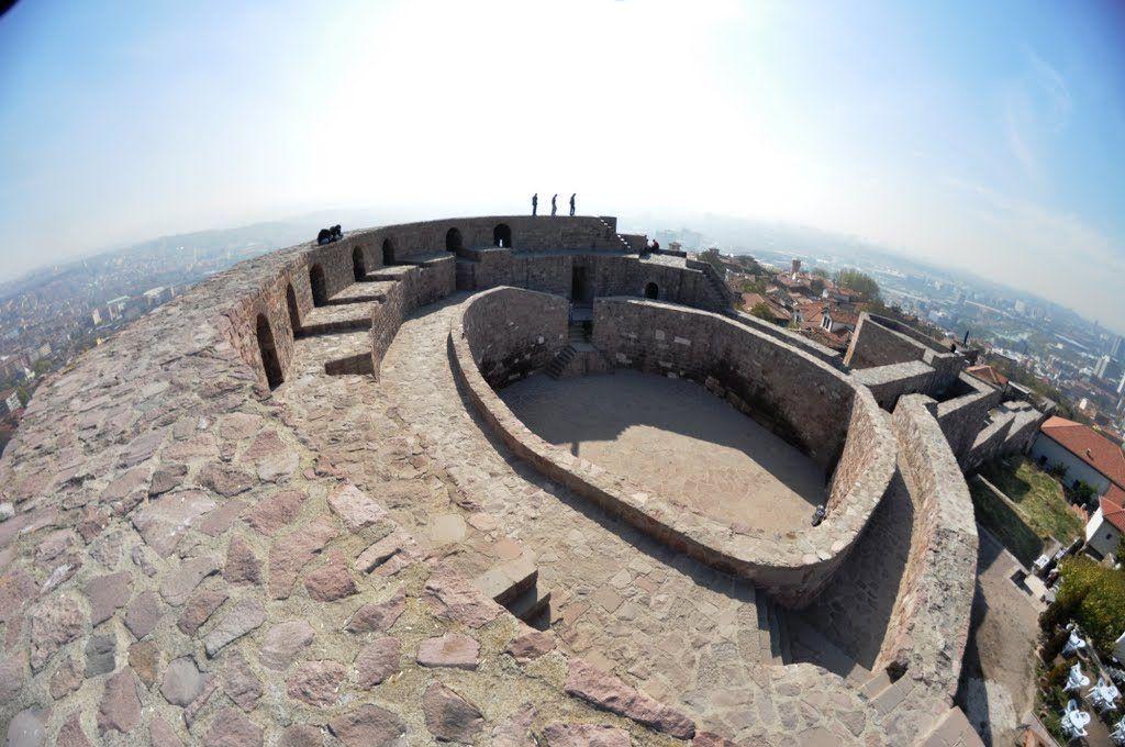 Внутренняя крепость цитадели Хисар