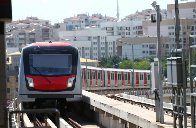 Легкорельсовое метро в Анкаре
