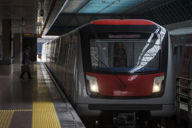 Станция метро в Анкаре
