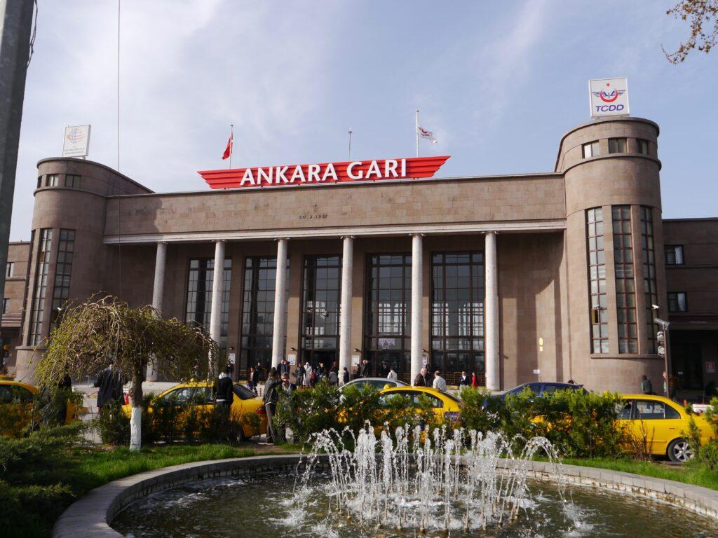 Железнодорожный вокзал Анкары