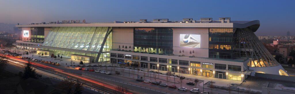 Вокзал для высокоскоростных поездов в Анкаре