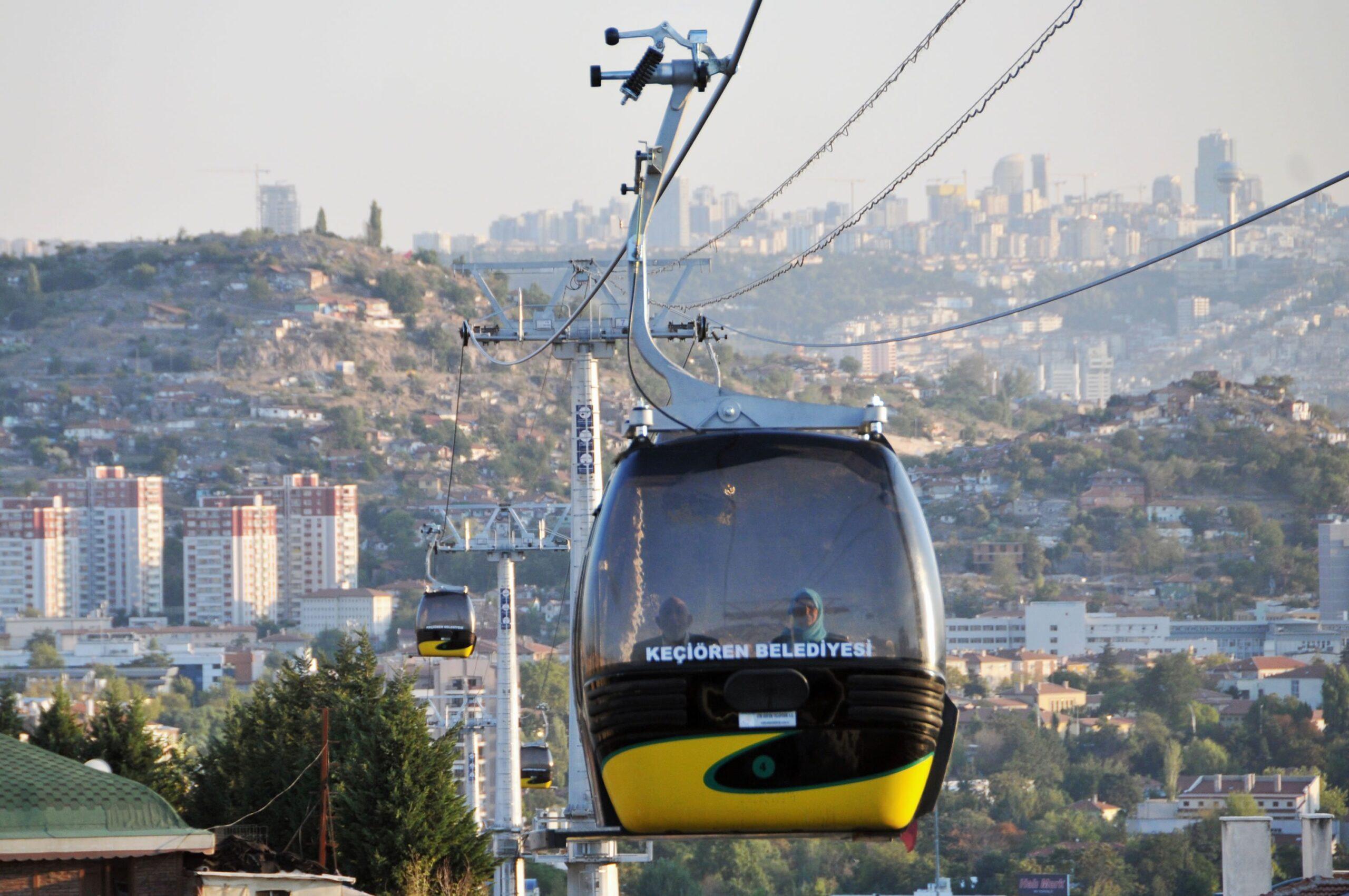 пассажирская канатная дорога в Анкаре
