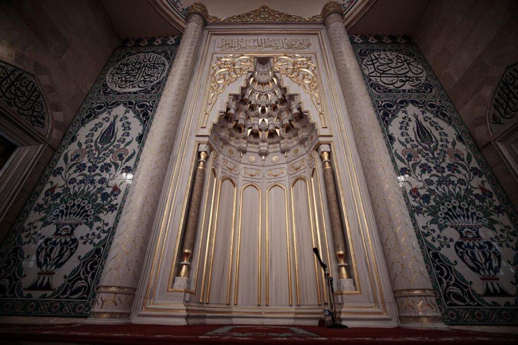 Михраб в мечети Северная Анкара