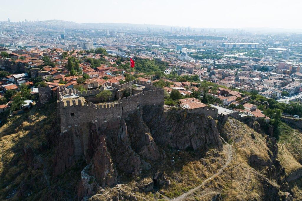 Вид на Анкарскую крепость