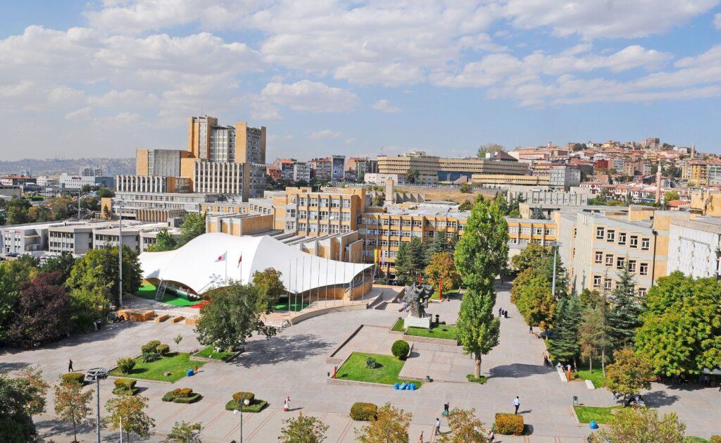 Кампус Университета Хаджеттепе