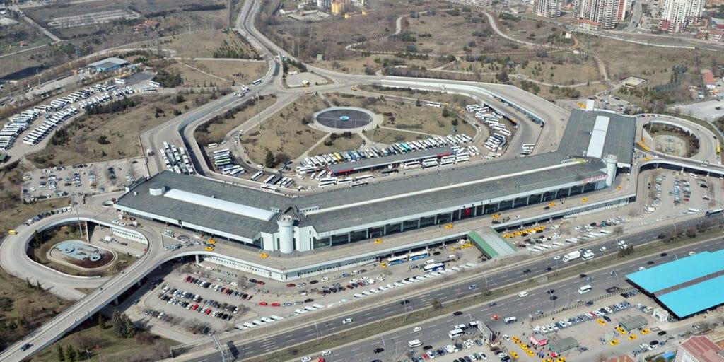 Автовокзал АШТИ в Анкаре