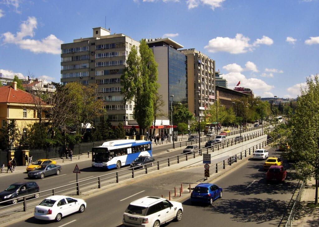 Бульвар Ататюрка в Анкаре
