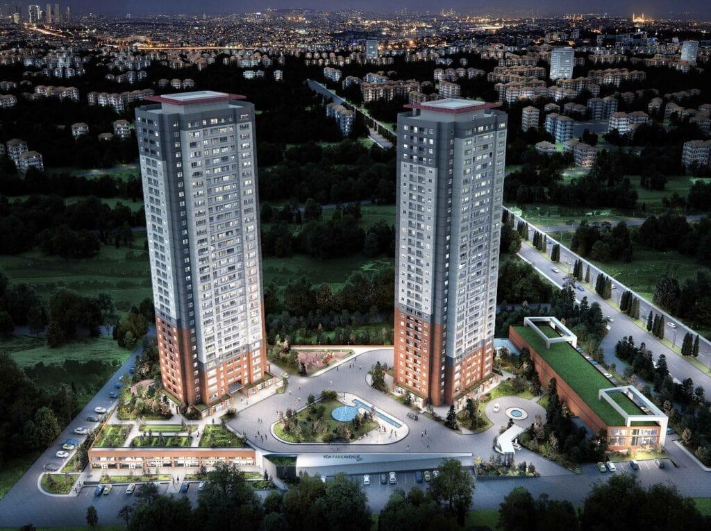 Башни-близнецы ЖК YDA в Анкаре