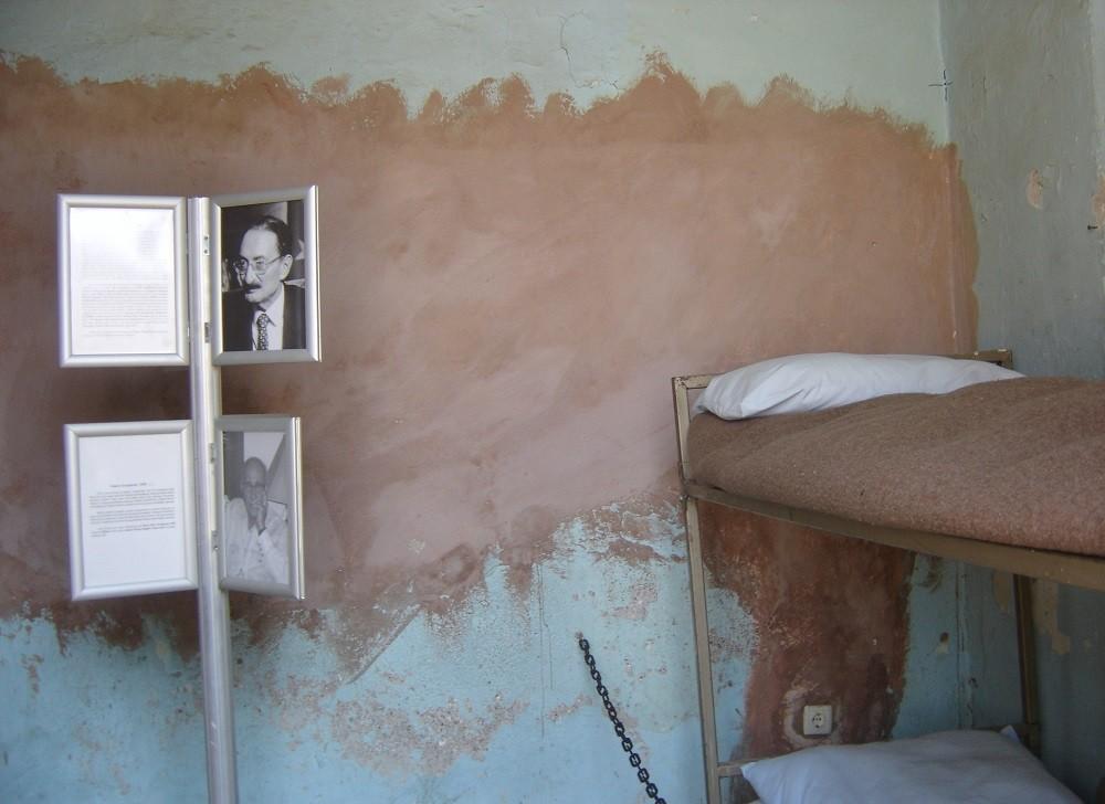 Тюремная камера бывшего премьер-министра Турции Бюлента Эджевита